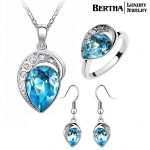 New Style Top Quality <b>Jewelry</b> Sets Earrings <b>Necklaces</b> Pendants Ring For Women Crystals from Swarovski Party Bijoux