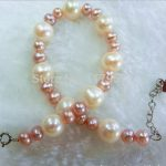 natural suborbicular fancy and colorful freshwater pearl bracelet beaded Fashion <b>Jewelry</b> <b>Making</b> Design Christmas gifts YH0084