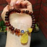 Natural Amber <b>Bracelet</b> Original Abacus Beads Women Unique Engagement Jewelry Genuine Baltic Amber <b>Bracelet</b> 11g