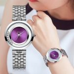 AESOP Dress Crystal Ladies Watch Luxury Brand Waterproof Crystal Quartz Woman Watches Fashion Brand <b>Silver</b> <b>Bracelet</b> Montre Femme