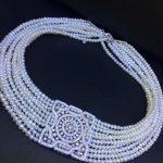 natural fresh water pearl choker necklace 925 <b>sterling</b> <b>silver</b> with cubic zircon square fashion women <b>jewelry</b> free shipping