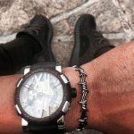 NO FADE Bracelet Men Femal Cool <b>Fashion</b> Twist Thorns Cuff Bangles Black Gold-color Love Bracelet Manchette Men <b>Jewelry</b> pulseras