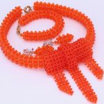 Latest African <b>Jewelry</b> Sets Beads Orange Wedding <b>Jewelry</b> For Women Free Shipping 2018 <b>Handmade</b> Fashion Wedding Necklace Gift Set