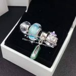 4pcs Fashion S925 Silver Green Enamel Shoes Dangle Charms Beads <b>Jewelry</b> Set Fit Bracelet Necklaces <b>Jewelry</b> <b>Making</b> Woman Gift