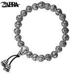 ZABRA 100% 990 <b>Sterling</b> <b>Silver</b> Handmade Vintage Tibetan Buddhism Rope Bracelet Men Women Six Words Mantras Bead Bracelet <b>Jewelry</b>