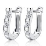 2018 korean trending products minimalist Ear clip smooth d'oreilles Wedding earring for women 925 sterling <b>accessories</b> <b>jewelry</b>