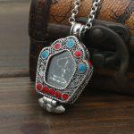S925 <b>sterling</b> <b>silver</b> lace Buddha Pendant <b>Jewelry</b> <b>Silver</b> Box gawu Tibetan Buddhist pendant male and female fashion