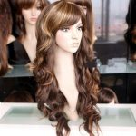 100% Brand New High Quality <b>Fashion</b> Picture full lace wigs>>Beautiful sexy stylish long mixed curly blonde brown wig wigs
