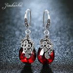JIASHUNTAI <b>Silver</b> 925 Earrings for Women Vintage Dangle Earrings 100% 925 Sterling <b>Silver</b> <b>Jewelry</b> Female Natural Stone