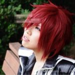 100% free shipping New High Quality <b>Fashion</b> Picture full lace wigs>> Man Lavi Short Red Cosplay Stylish <b>Fashion</b> Hair Wig