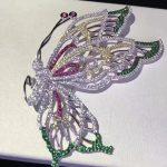 925 <b>sterling</b> <b>silver</b> with cubic zirocn butterfly brooch pins fashion women <b>jewelry</b> multi color free shipping