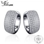 JewelryPalace Fashion 1.8ct Round Clip on Earrings 925 Sterling <b>Silver</b> Fashion Earrings <b>Jewelry</b> For Women Gift