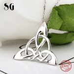 2018 new arrival 100% 925 sterling silver diy design knot pendant chain necklace European fashion <b>jewelry</b> <b>making</b> for women gifts