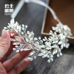high end delicate <b>handmade</b> Rhinestone Headband women hair decoration bride crown headdress wedding hair <b>jewelry</b> accessories