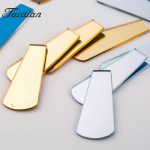Fan-shaped Acrylic mirror rhinestone Cabochon Slabs with Resist film 8x15x38MM 50PCS/LOT