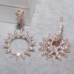 Designer Fashion 925 Sterling <b>Silver</b> Jewelry 3A Cubic Zirconia Party <b>Earring</b>