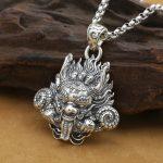 New! <b>Handmade</b> 925 silver Dragon pendant vintage thai silver strong Dragon pendant Man <b>jewelry</b> gift necklace pendant