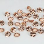 Champagne Color Cubic Zirconia Stone <b>Supplies</b> For <b>Jewelry</b> Round Pointback Design Beads Beauty 3D Nails Art Decoration DIY 4-18mm