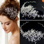 The new high-end crystal tiaras <b>handmade</b> wedding accessories summer style beautiful bridal headband hair <b>jewelry</b> for women