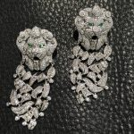 925 <b>sterling</b> <b>silver</b> with cubic zircon dangle earring lion drop earring fashion women <b>jewelry</b> party earring free shipping