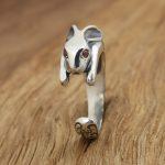 S925 factory wholesale silver <b>jewelry</b> <b>handmade</b> Thai silver retro female rabbit personality ring opening ring