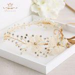 Wedding <b>Handmade</b> Silver Hairbands Brides Korean Soft Pearls Tiara Head wear Crystal Hair <b>Jewelry</b>