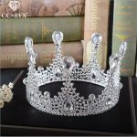 CC <b>Jewelry</b> crowns and tiaras hair crown party <b>handmade</b> wedding hair accessories for crown women queen hairwear bride diy HG454
