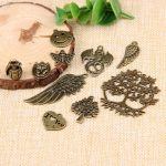 yaye Punk Vintage <b>Antique</b> Bronze Metal Plated Zinc Alloy Mixed Charms Pendant DIY <b>Jewelry</b> Making Findings Accessories 10pcs/set