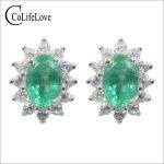 100% natural tanzanite stud <b>earrings</b> for wedding 4 mm * 6 mm VS grade tanzanite <b>earrings</b> 925 sterling <b>silver</b> tanzanite jewelry