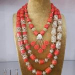 Dubai Gold Coral <b>Jewelry</b> Amazing Wedding Nigerian Coral Beads <b>Jewelry</b> Set African Traditional Bridal Coral <b>Necklace</b> Set ABH601