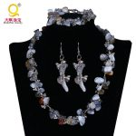 Fashion handmade natural stones <b>accessories</b> adornment bijouterie original present necklace,earrings,bracelet set <b>jewelry</b>