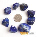 15X20-20X30MM Bone shape Natural Lapis Lazuli Stone Beads natural stone beads DIY loose beads for <b>jewelry</b> <b>making</b> 8 PCS wholesale