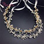 Handmade bridal head <b>jewelry</b> crystal rhinestone women forehead wedding crown tiara wedding hair accessories RE903