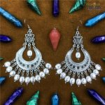 <b>Jewelry</b> of Gypsy Women In The Middle East Carved Ancient Silver Big Earrings Retro tribal <b>Handmade</b> <b>Jewelry</b> BOHO Turkey Thailand