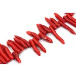 Gorgeous Pepper Red Natural Coral Beads DIY <b>Jewelry</b> African Beads <b>Making</b> Loose Beads5 Colors Wholesale Free Shipping CB029