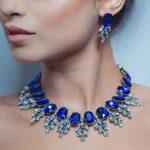 Best lady New Maxi Rhinestone Bib Collier Femme Beads Collar Chokers Pendant Statement Necklace for Women Choker <b>Jewelry</b> 3512