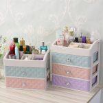 Cosmetic Storage Boxes Small Drawer type <b>Jewelry</b> Box Multifunction Desktop Sundries Storage Container Makeup Organizer <b>Supplies</b>