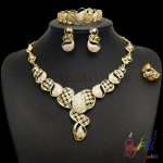 Yulaili Fashion Gold Plating Wholesale <b>Jewelry</b> Delicate <b>Jewelry</b> Set