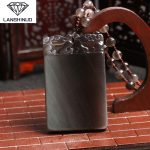 A counter genuine wholesale <b>supply</b> natural men's and women's ice color Obsidian All is well. Pendant <b>Jewelry</b> Made in China