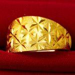 Large Personality Fashion Flashing Starry Rings Men's Rings <b>Supplying</b> Hot Sandal <b>Jewelry</b> True Gold Men's Rings
