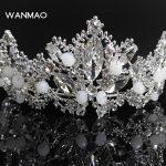 High-grade alloy rhinestone bridal crown wedding <b>supplies</b> tiara fashion dinner crown <b>jewelry</b> female <b>jewelry</b> HD329