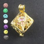 Hiroshi Mori Copper Silver 10pcsMIxe Tree of Life Essential Oil Diffuser for Charms Pearl Cage <b>Jewelry</b> <b>Supplies</b> Locket Pendants