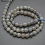 Faceted Natural Labradorite Stone Round Loose Beads 6mm 8mm 10mm DIY <b>Jewelry</b> making <b>supplies</b>