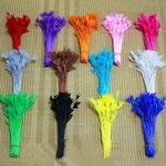 100pcs/lot Wedding Party Creative Decoration <b>Supplies</b> DIY Natural Turkey Dyed Event Feather Hair <b>jewelry</b> accessories 12-18 cm