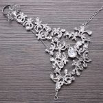 Hot Sale New Hand Wedding Party <b>Jewelry</b> Chain Bracelet Crystal Hand Back Chain Wedding Accessories Event & Party <b>Supplies</b> BS