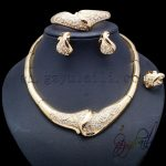 Yulaili Bravery Semi-precious Stones <b>Jewelry</b> Set