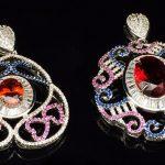 New luxury crystal charm connector <b>jewelry</b> heart-shaped/round adornment found pearl pendant <b>jewelry</b> <b>supplies</b>