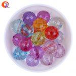 High Quality Fashion Acrylic Bead <b>Jewelry</b> 20MM 100Pcs/Lot Mix Color Clear Transparent Acrylic Disco Beads For <b>Jewelry</b> <b>Supplies</b>