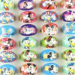 Wholesale Lots Fashion <b>Jewelry</b> 100pcs Mixs Cute Cartoon Minnie Dacey Kids Ring Resin Girl Children Rings Party Birthday <b>Supplies</b>
