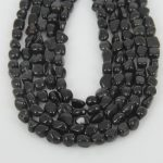 3-5-10 strands Black Magnesite Loose Beads Nuggets Howlite Craft Necklace Making <b>Jewelry</b>,Chips <b>Supply</b> Wholesale Bulk